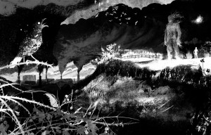 Any excuse for Jim Kay's artwork from A Monster Calls.