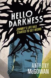 The brilliant cover for Hello Darkness - Distinctive Stuff.