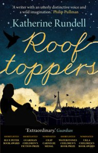 The current, silhouetted jacket for Rooftoppers.