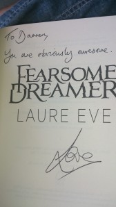 Laure says I'm AWESOME! I'm not.