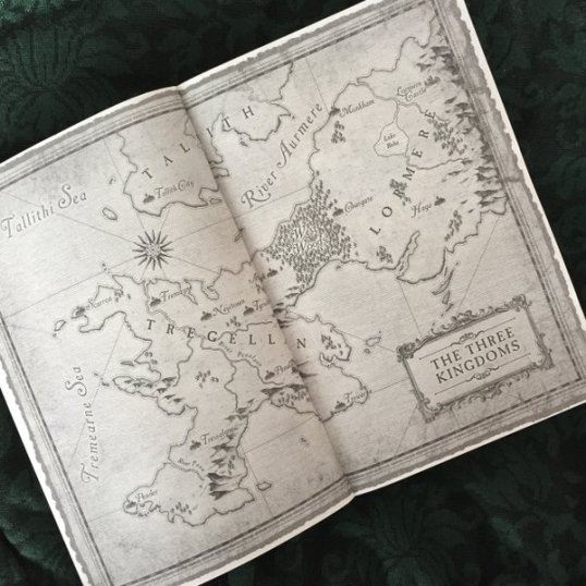 ALL BOOKS NEED A MAP.